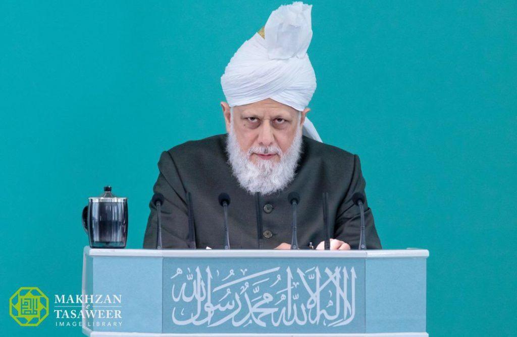 Hazrat Mirza Masroor Ahmad- Khalifatul Masih Al Khames (ABA)